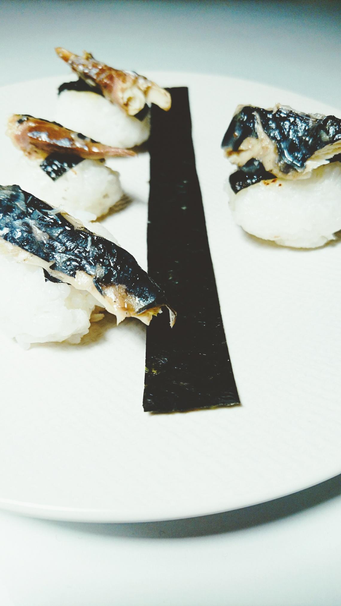 sashimi-maquereaux-riz-grille