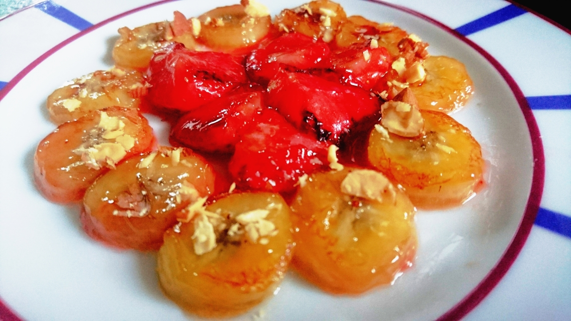 bananes et fraises confites.jpg