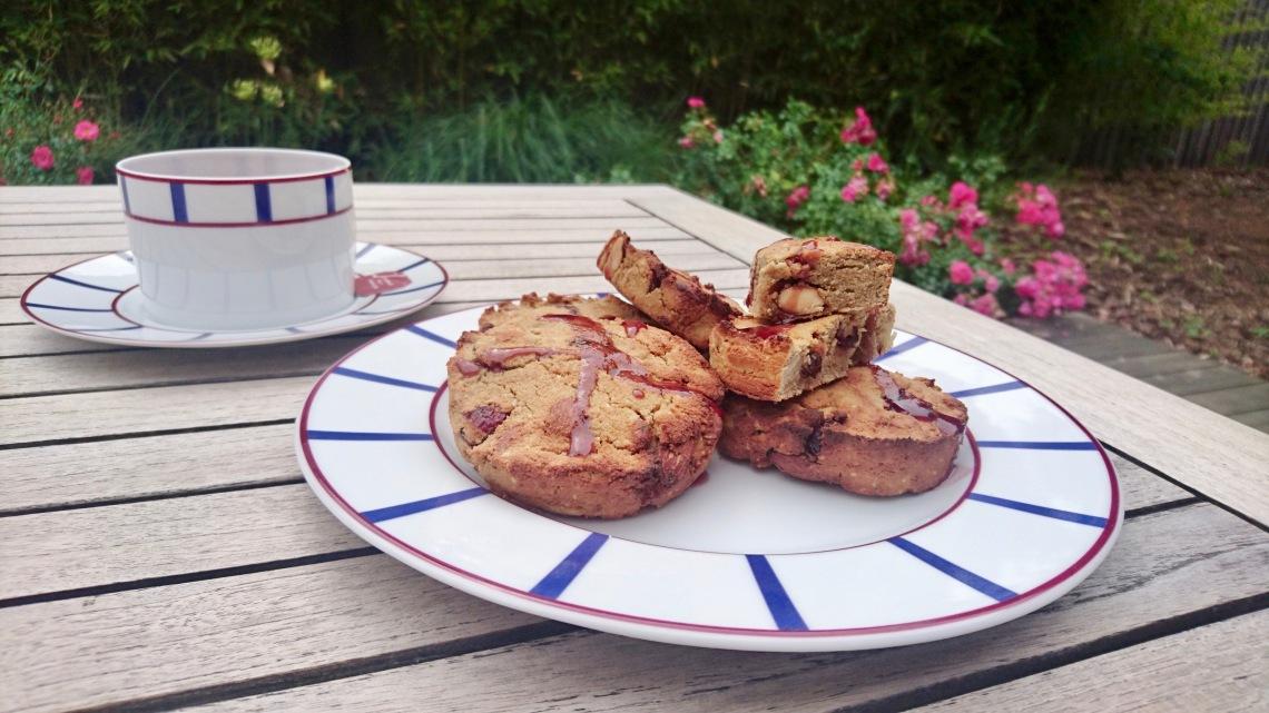 scones cranberries amandes macadamia