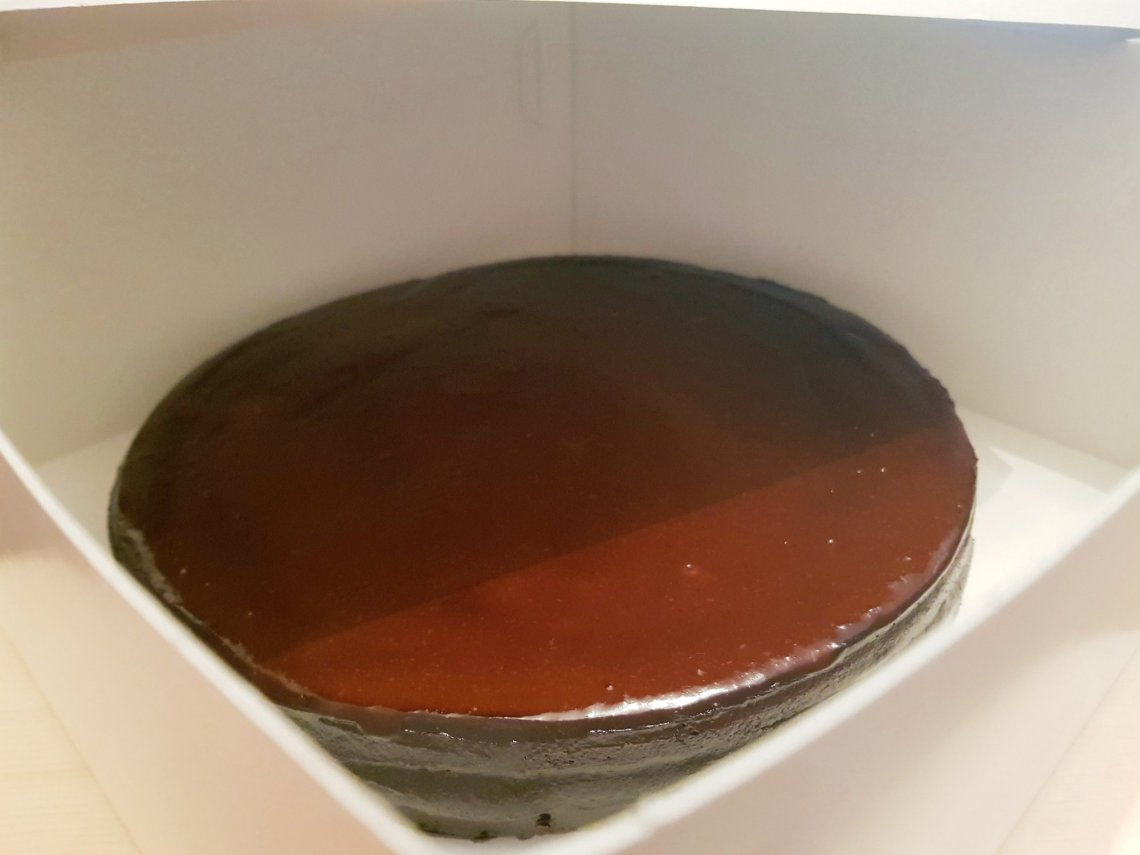 double gâteau sans sucre